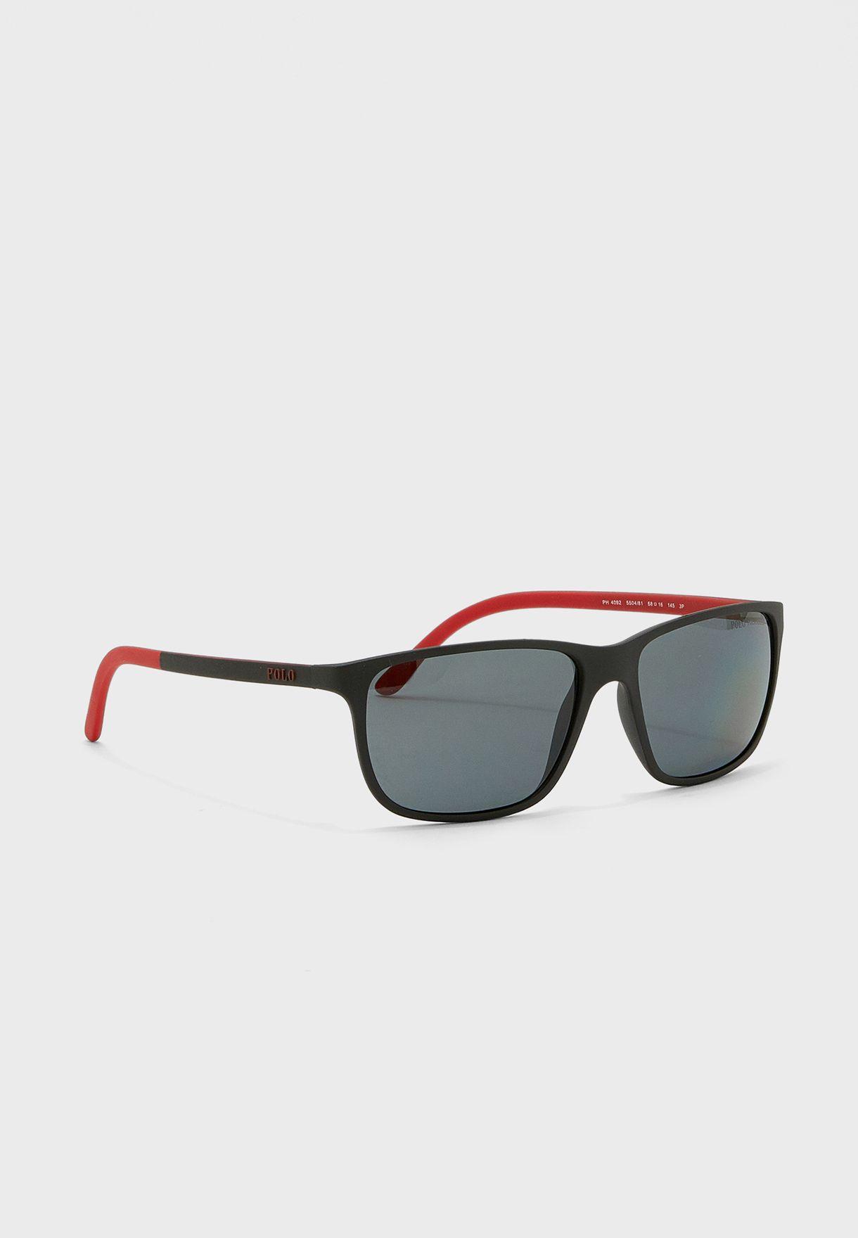 0Ph4092 Square Sunglasses