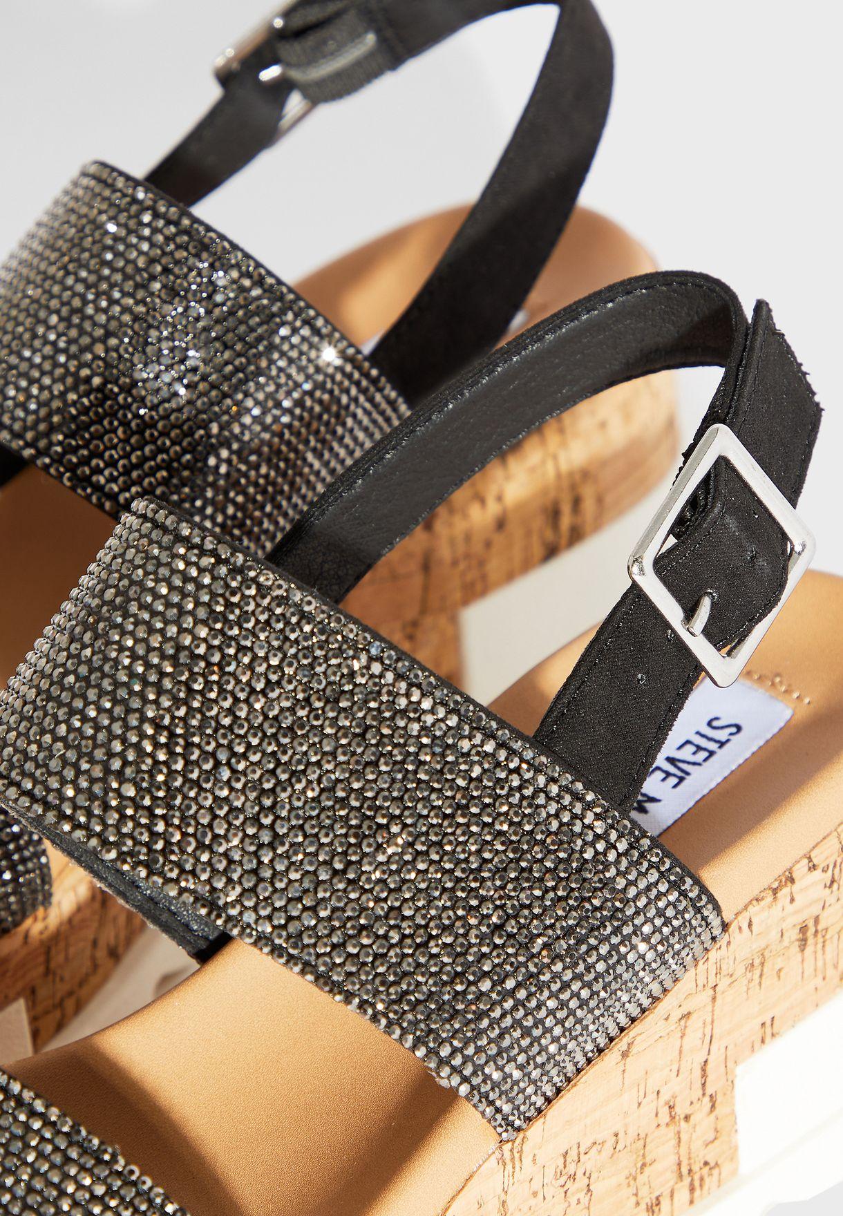 Brenda-R High Heel Wedge Sandal