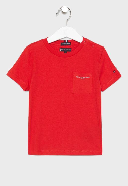 Kids Pocket Logo T-Shirt