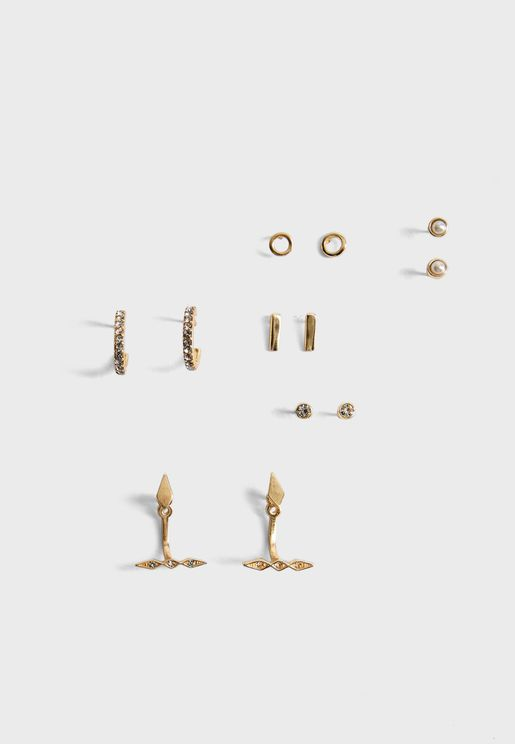 Multipack Esme Stud Earrings