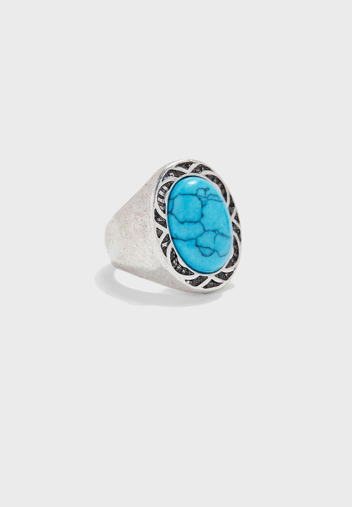 Ubud Stone Signet Ring