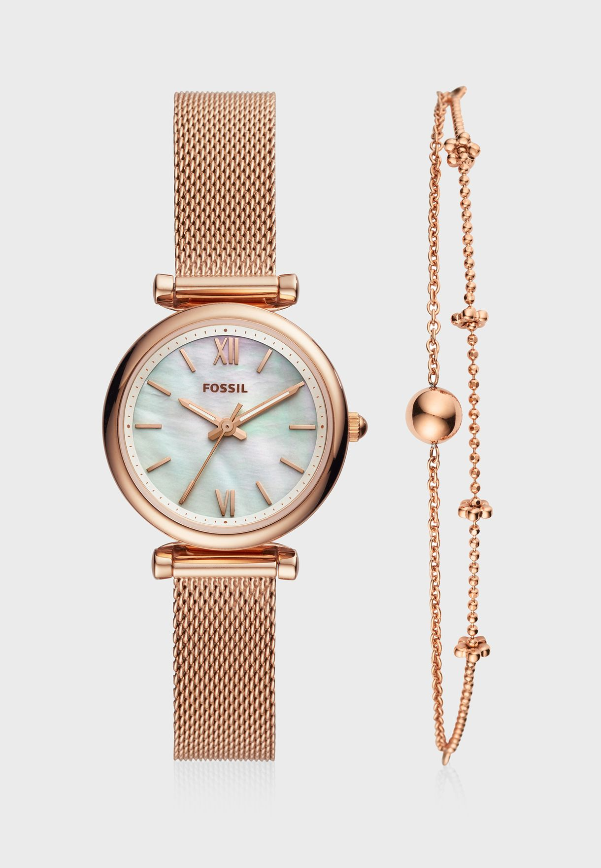 ES4443SET Carlie Analog Watch+Bracelet Set