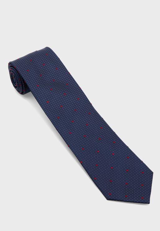 ربطة عنق بنقاط بولكا