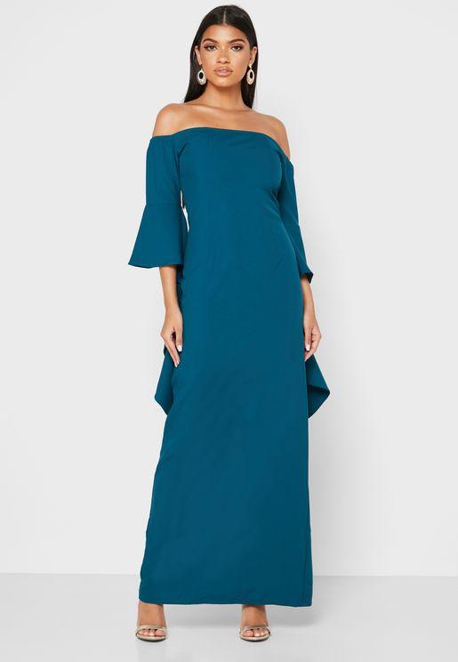 فستان باكتاف عارية