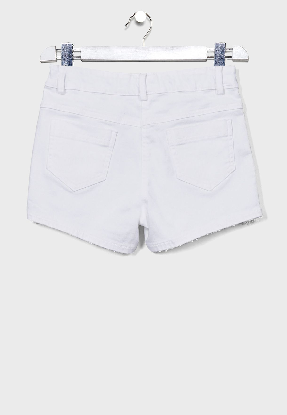 Kids Hem Ruffle Shorts