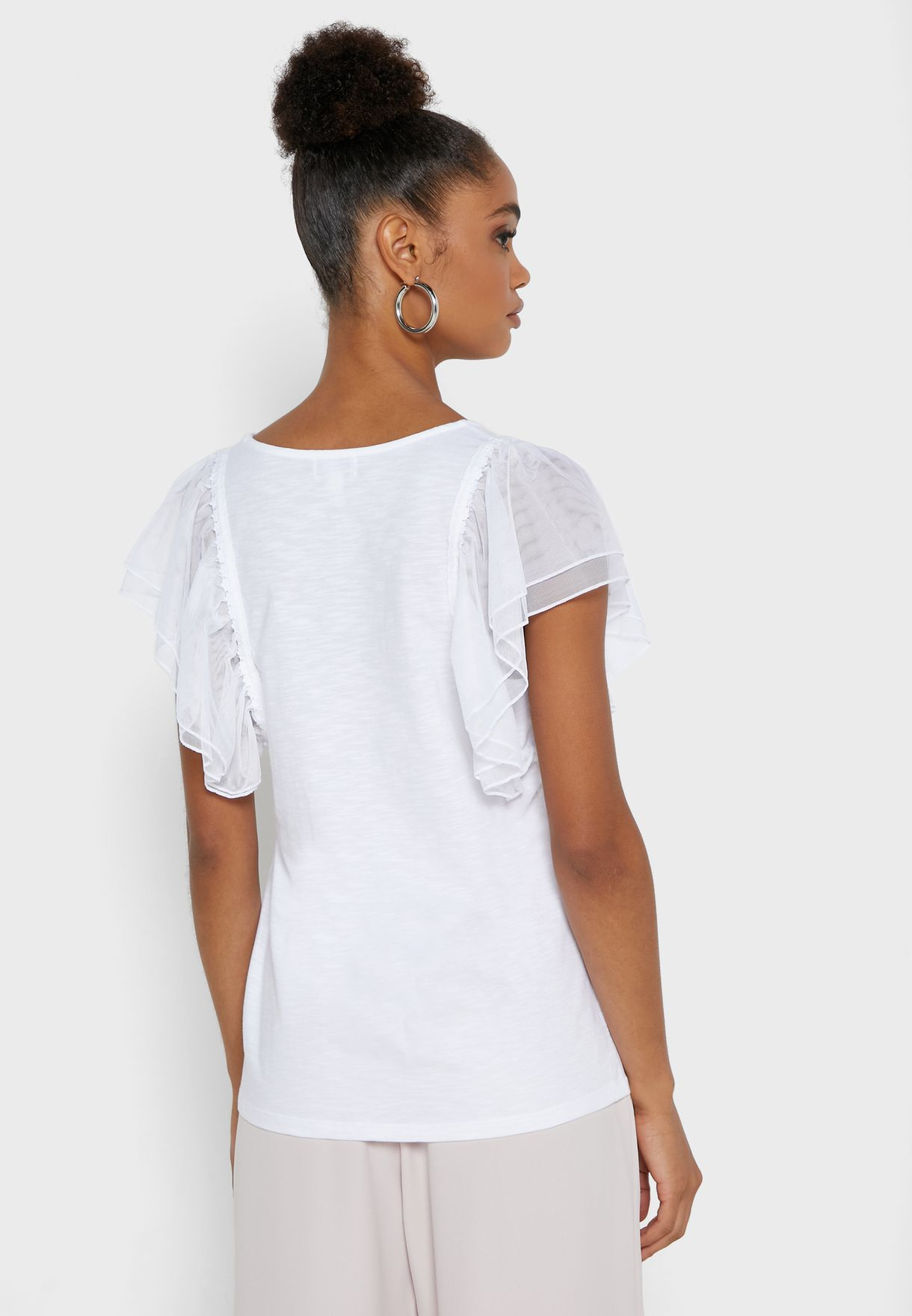 Bethany Double Frill T-Shirt