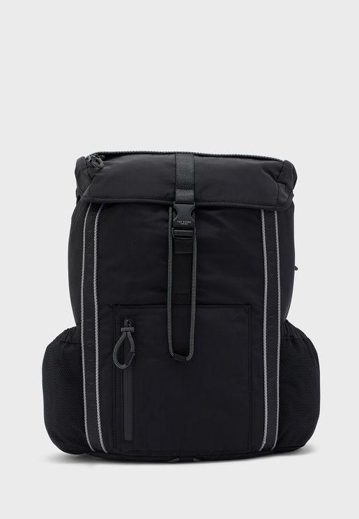 Branded Nylon Backpack