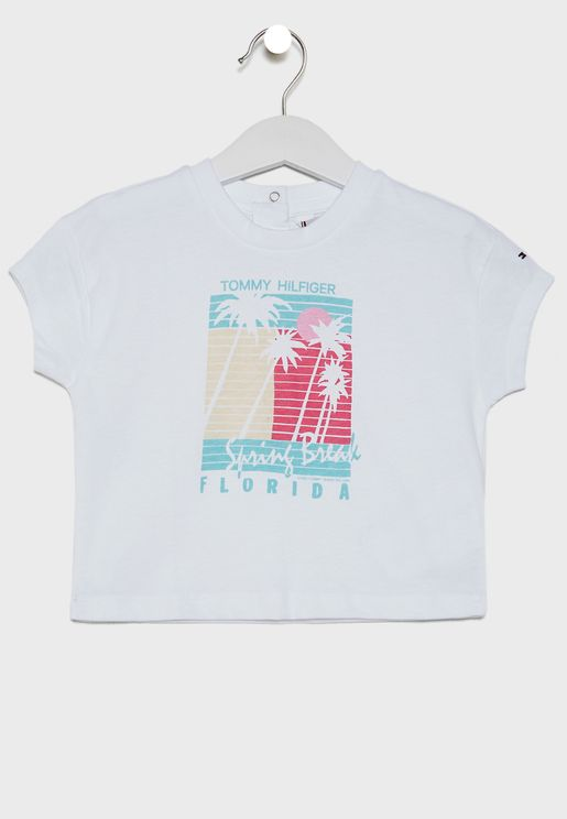 Kids Palm Print T-Shirt
