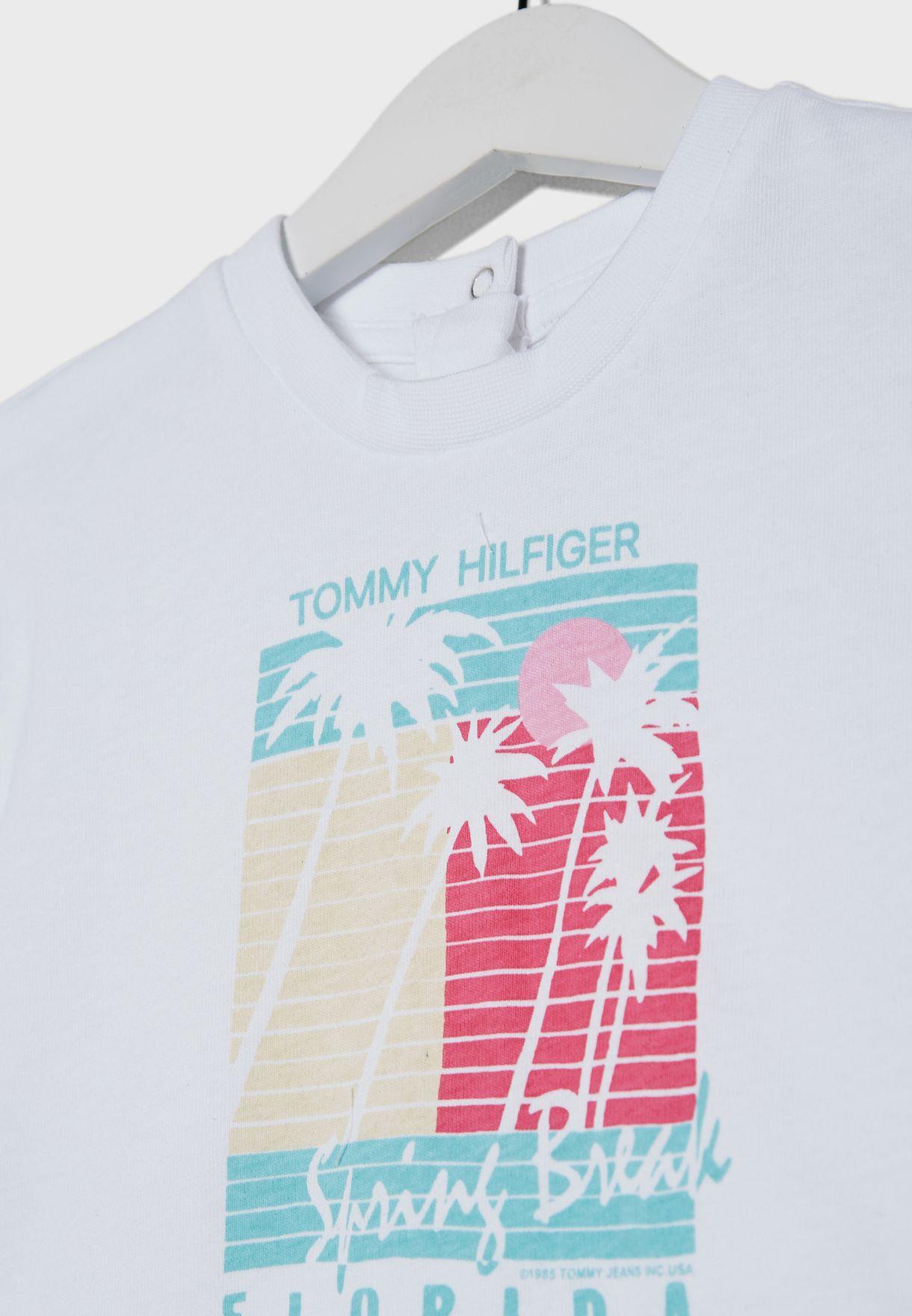 Kids Palm Print T-Shirt