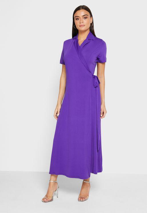 فستان لف ناعم