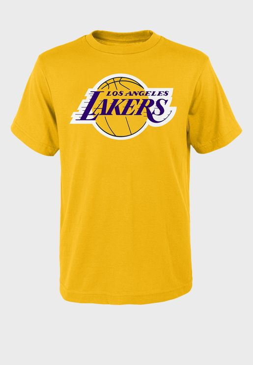 Lebron James Los Angeles Lakers Standing Tall T-Shirt