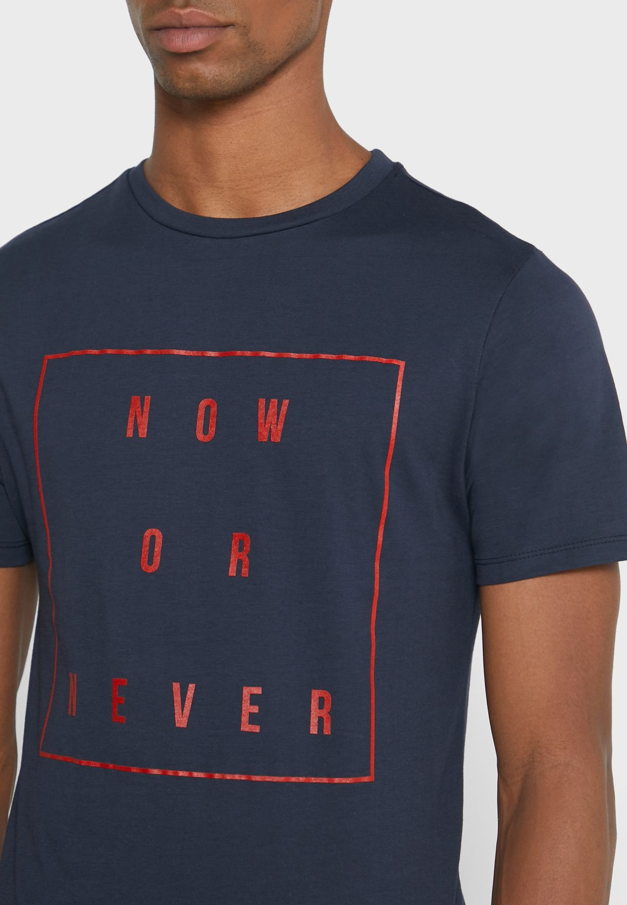 Now or Never T- Shirt