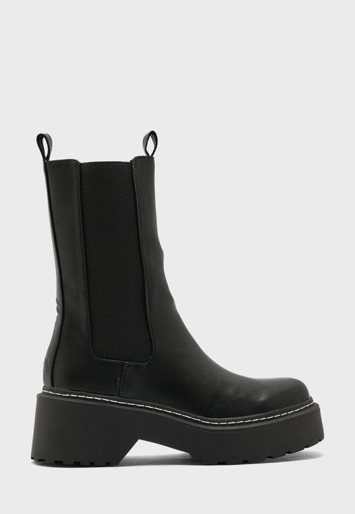 Valley Clean Chunky Boot