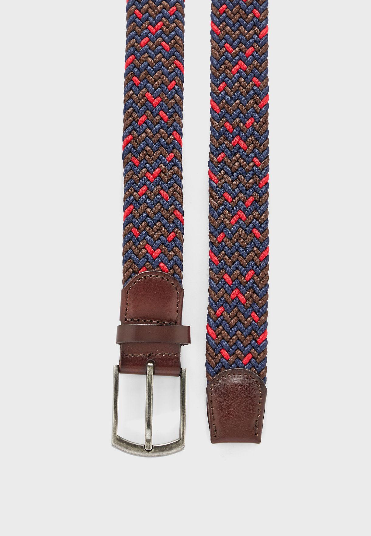 حزام بابزيم ودبوس