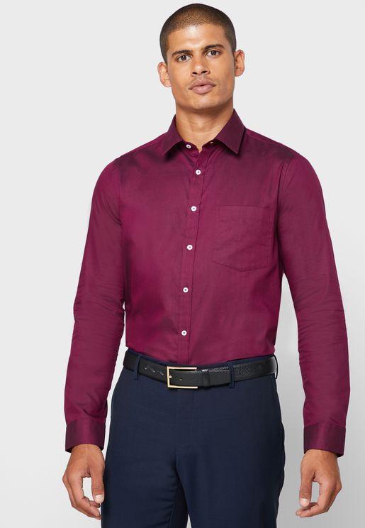 قميص اوكسفورد رسمي