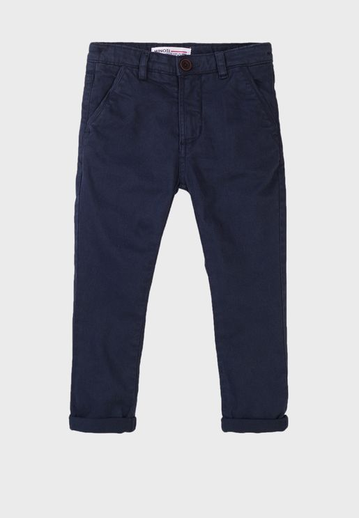 Kids Basic Chino Pants