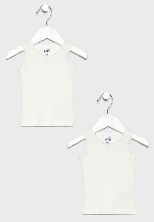 Infant 2 Pack Tank Top