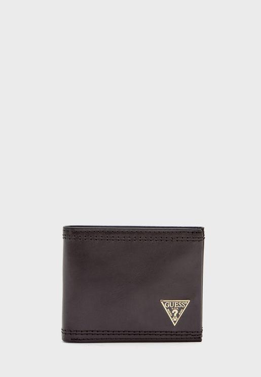 Agneli Bi-Fold Wallet