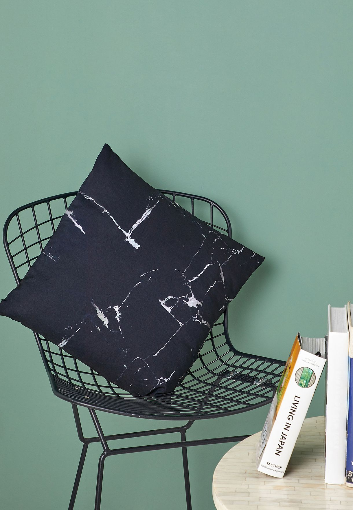 Marble Cushion With Insert 45x45cm