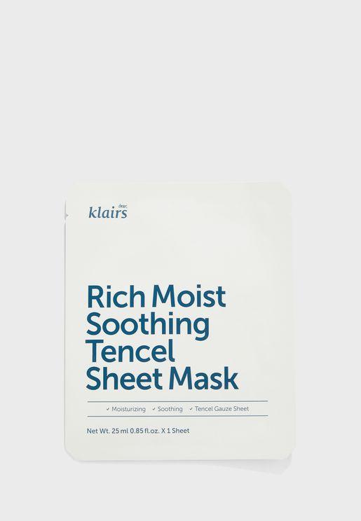 Rich Moist Soothing Tencel Sheet Mask 25 ml