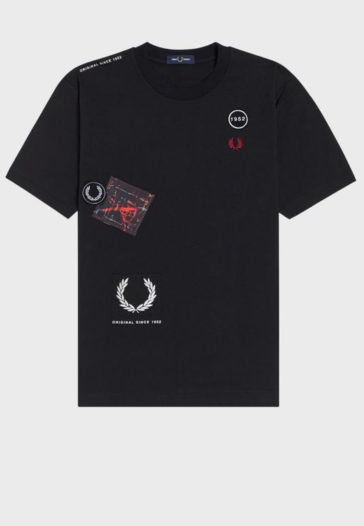 Graphic Applique T-Shirt