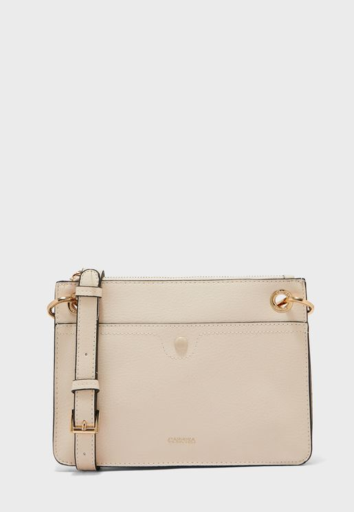 Eyelet Detail Crossbody