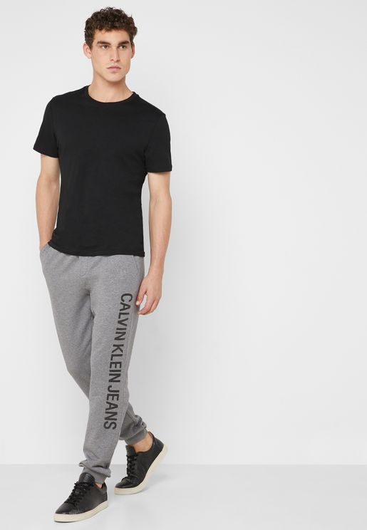 Institutional Side Logo Sweatpants