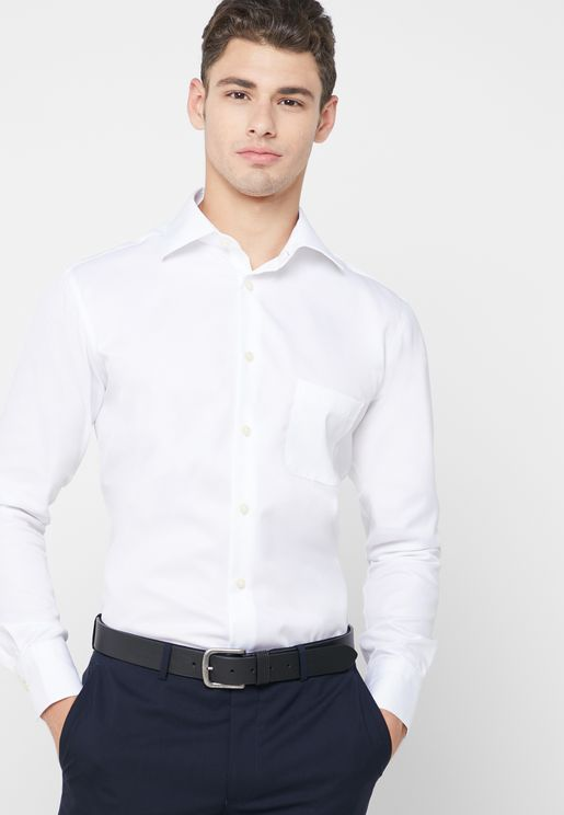 قميص سادة انيق