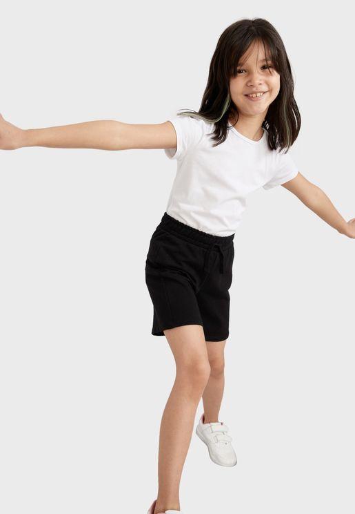 Kids Drawstring Shorts