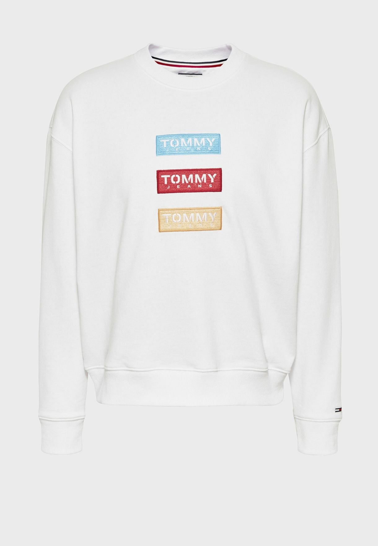 Crew Neck Logo Sweatshirt