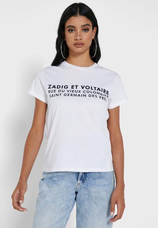 Zoe Slogan T-Shirt