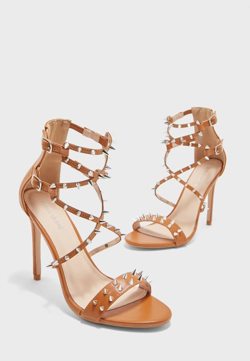 Amore Multi Strap High Heel Sandal