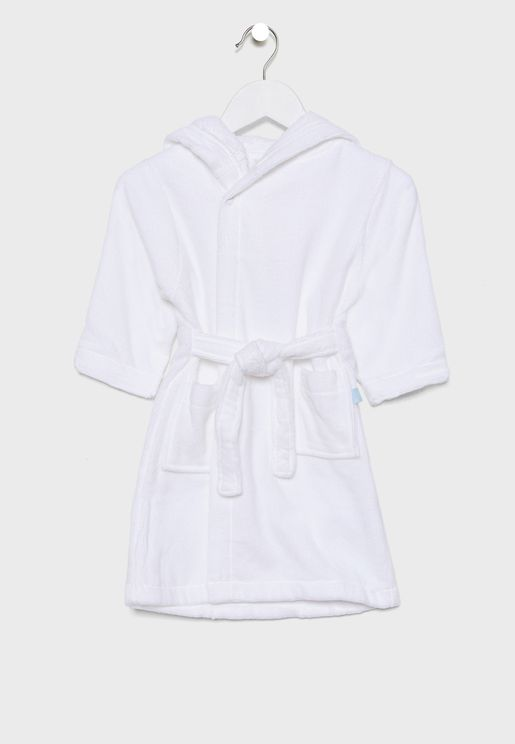 Kids Bunny Towelling Dressing Gown