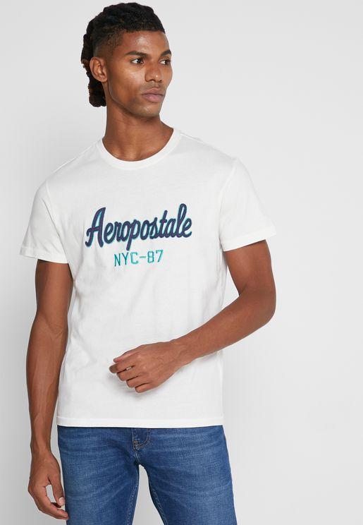 New York Crew Neck T-Shirt
