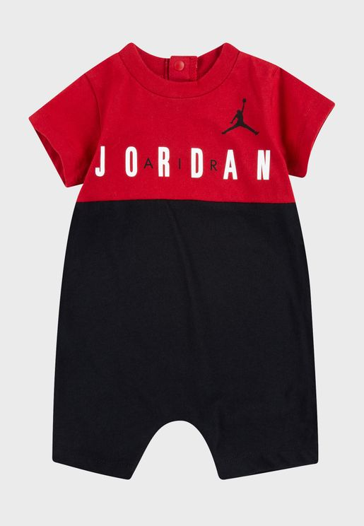 Infant Jordan Jumpman Big Block Romper