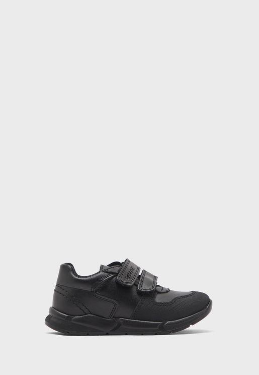 Junior Double Strap Sneaker