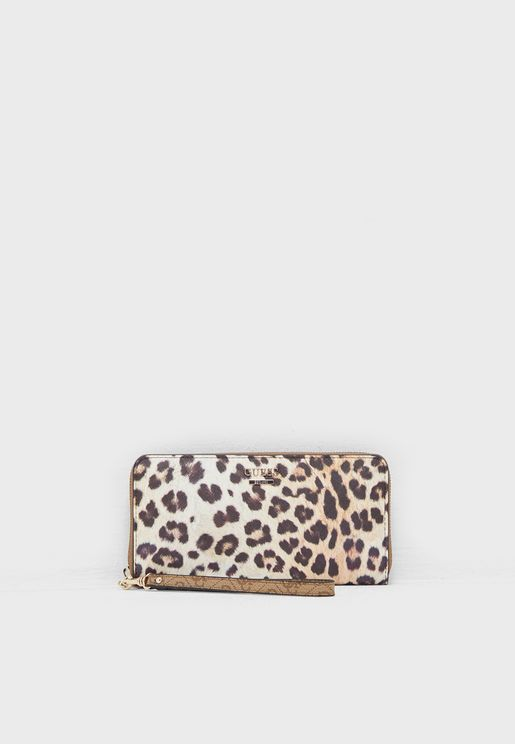 Downtown Cool Large Zip Around Purse