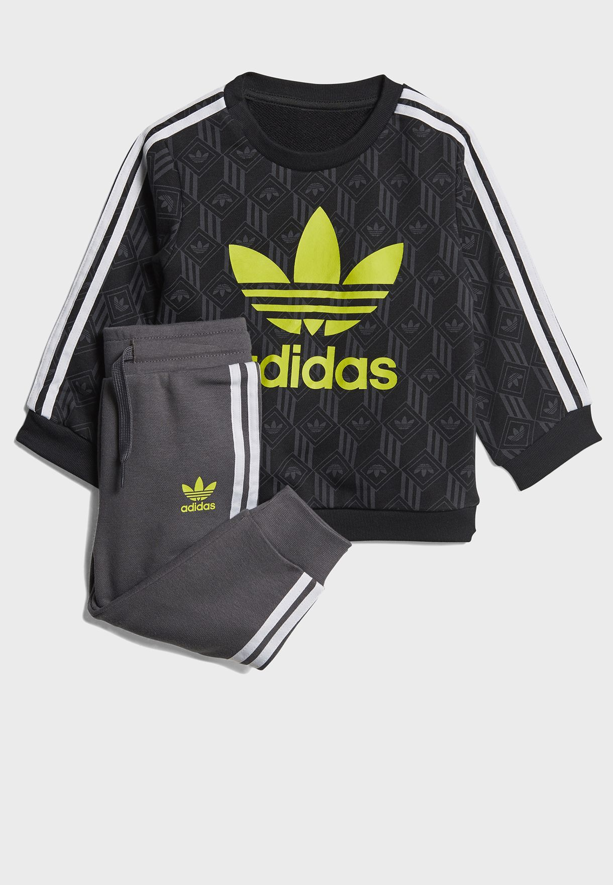 Crew Set All Over Print Casual Kids Tracksuit