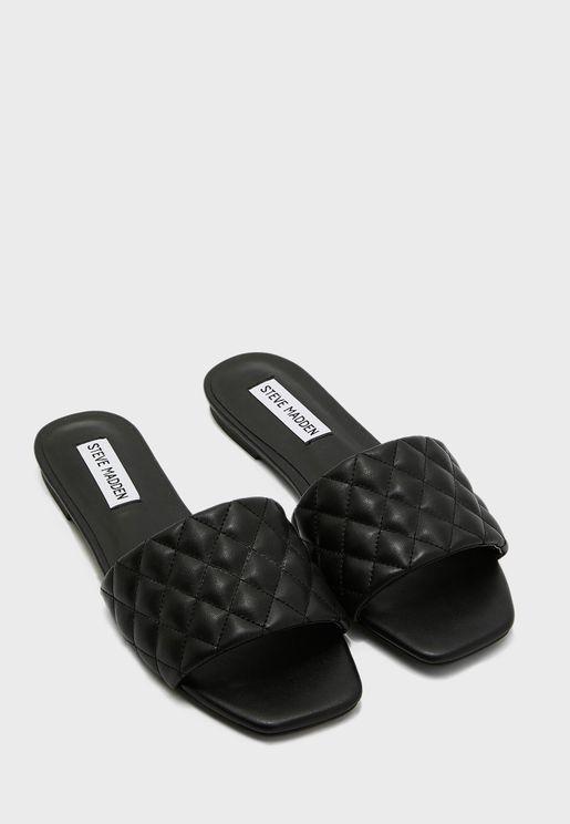 Plush-Q Flat Sandal