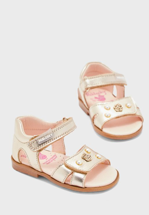 Infant Pearl Detail Sandal