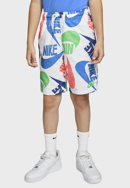 Youth NSW Woven AOP Shorts
