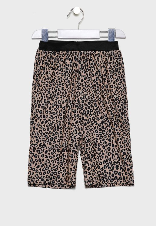 Kids 2 Pack Printed Shorts