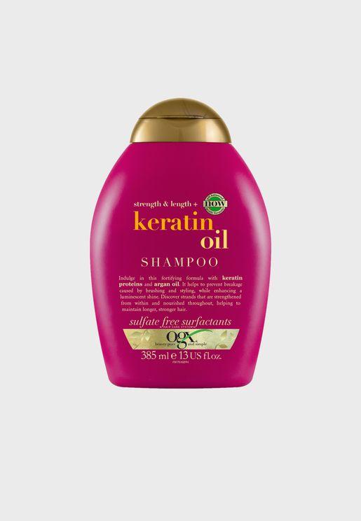 شامبو مقاوم لتكسر الشعر بزيت الكيراتين - 385 مل