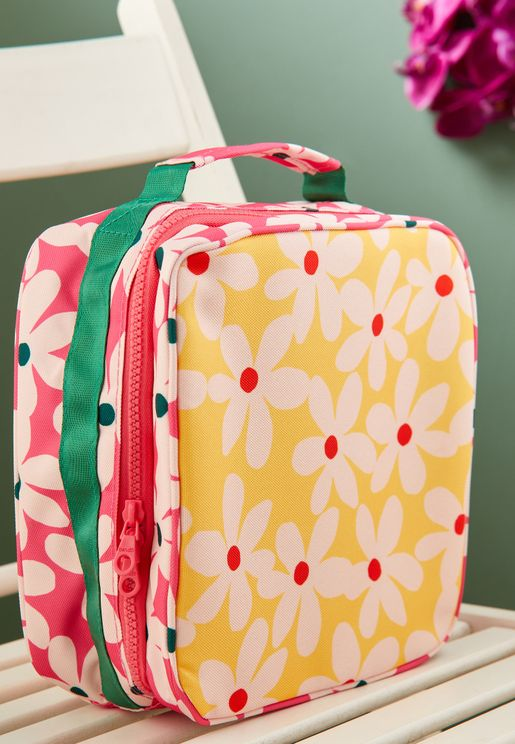 Floral Print Lunch Bag