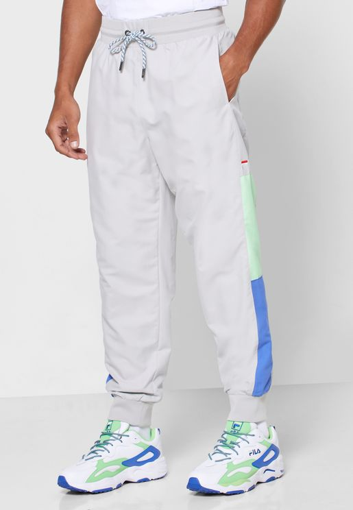 Haywood Cut & Sew Stripe Track Pants