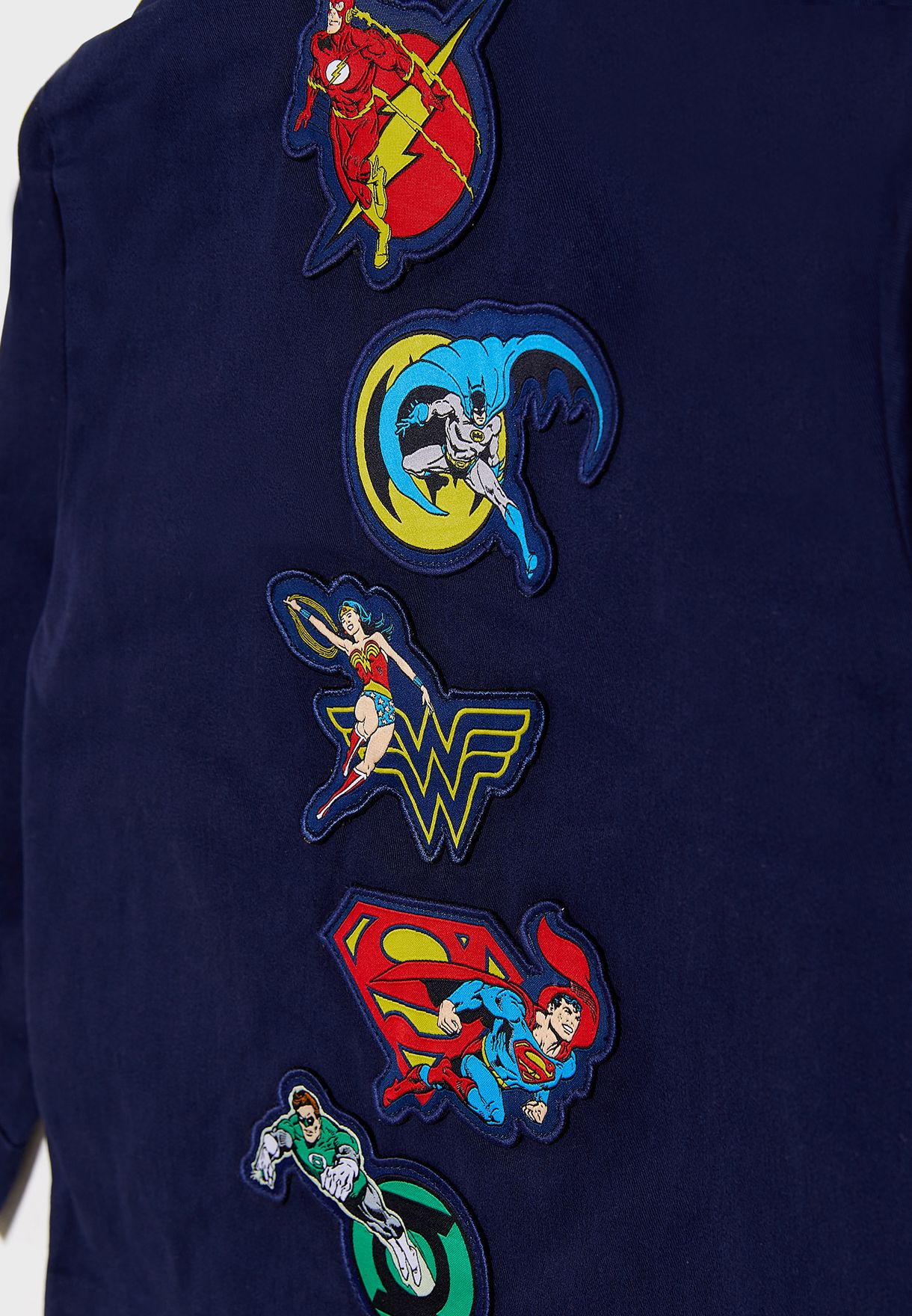 Kids Justice League Jacket