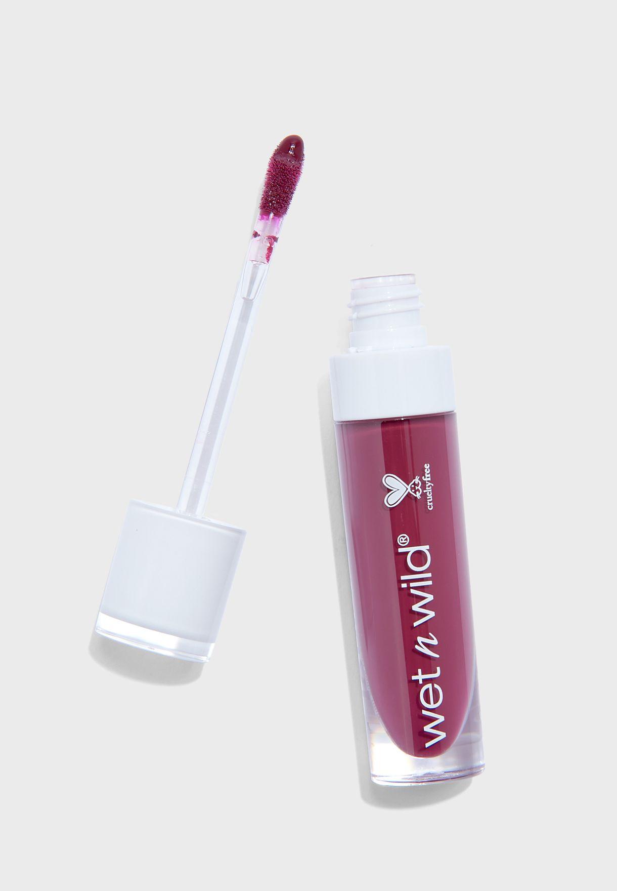 Megalast Hi-Shine Liquid Lipstick WineIsTheAnswer