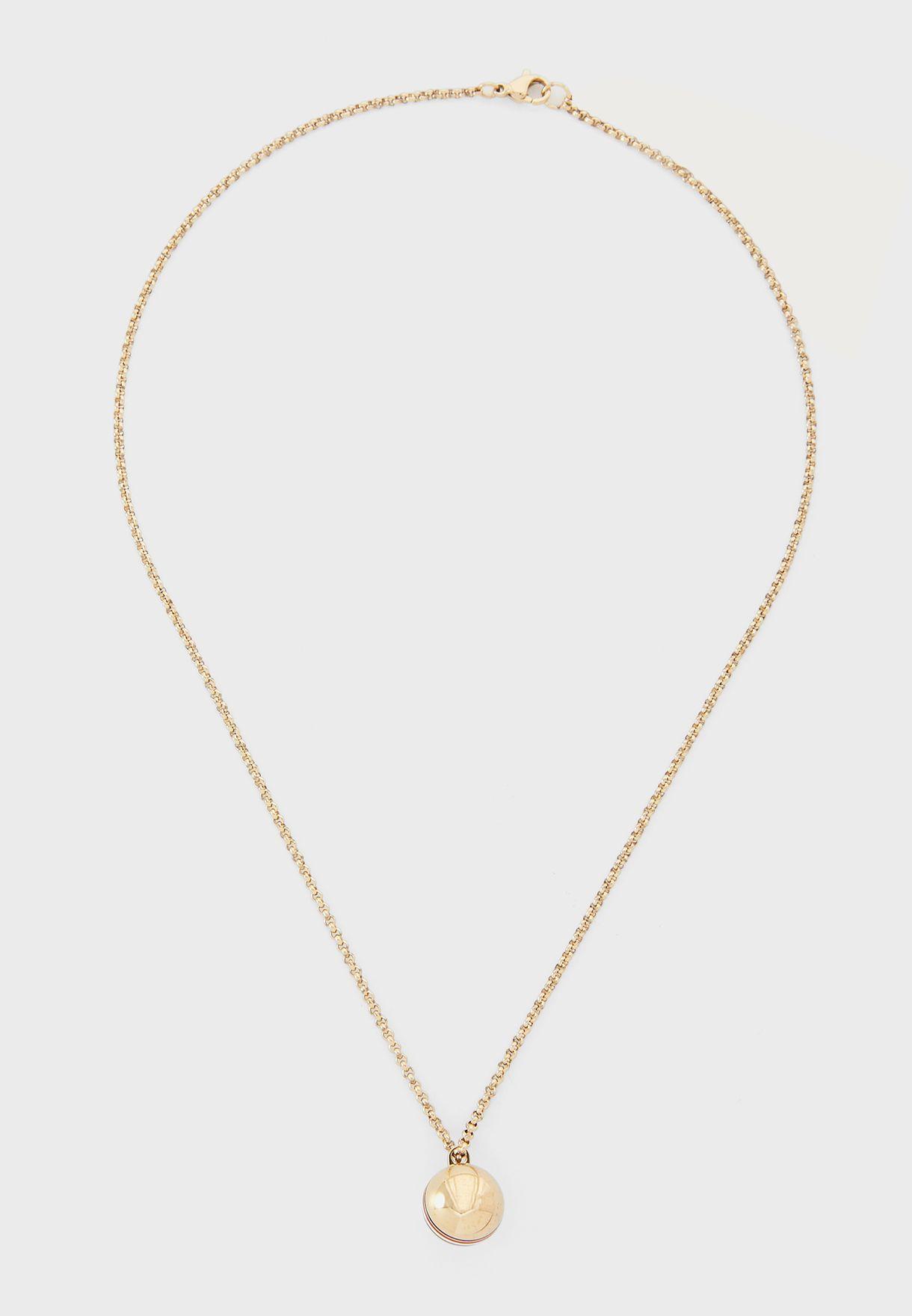 Orb Pendant Necklace