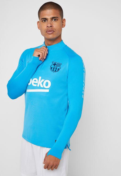 FC Barcelona Squad Drill T-Shirt