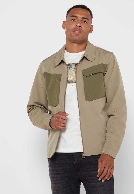 Contrast Pocket Jacket